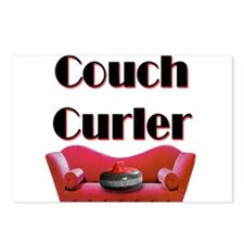 Couch Curler Postcards (Package of 8)