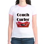 Couch Curler Jr. Ringer T-Shirt
