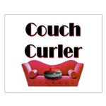 Couch Curler Small Poster