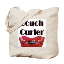 Couch Curler Tote Bag