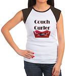 Couch Curler Women's Cap Sleeve T-Shirt