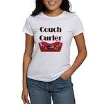 Couch Curler Women's T-Shirt
