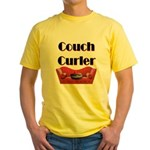Couch Curler Yellow T-Shirt