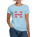 It Is What It Is Women's Light T-Shirt