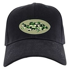 CAMO BASS Baseball Hat