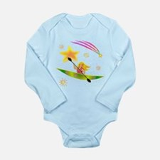 Star Kayaker Long Sleeve Infant Bodysuit