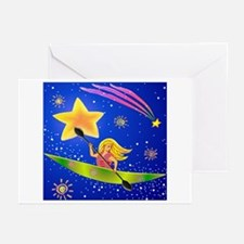 Star Kayaker Greeting Cards (Pk of 20)