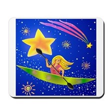 Star Kayaker Mousepad