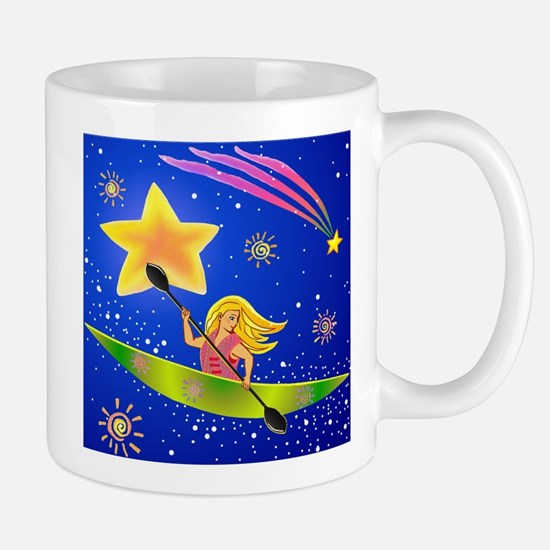 Star Kayaker Mug