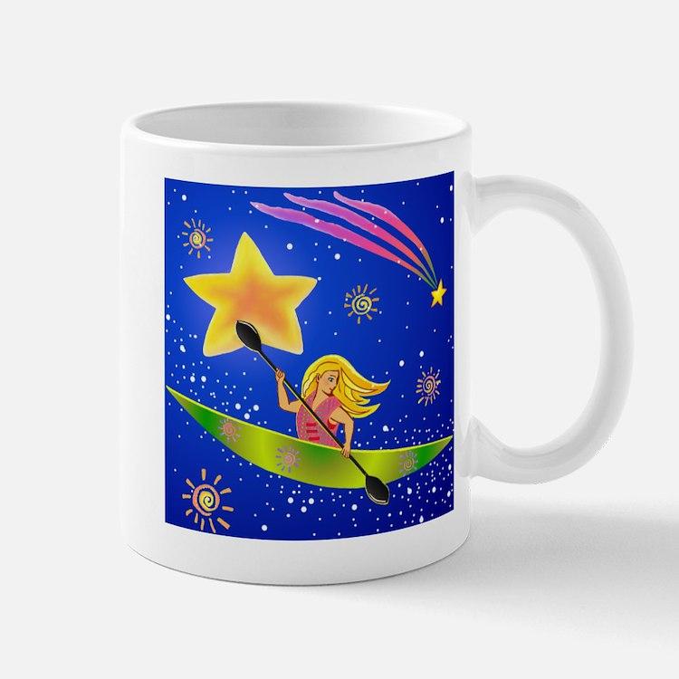 Star Kayaker Mug