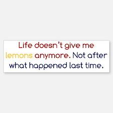 Life Doesn't Give Lemons Bumper Bumper Sticker
