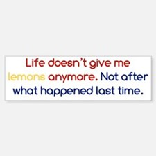 Life Doesn't Give Lemons Sticker (Bumper)