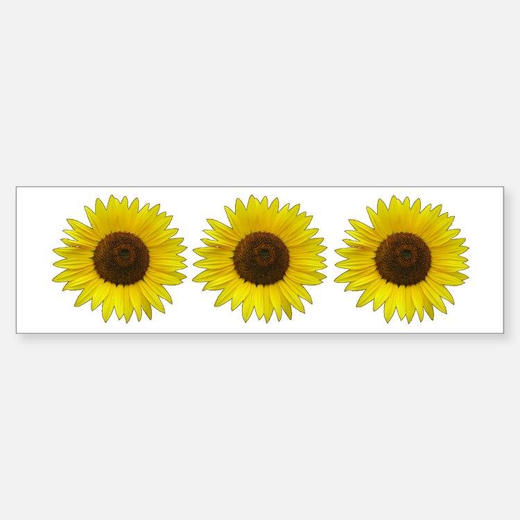 Helaine's Sunflower Bumper Bumper Sticker
