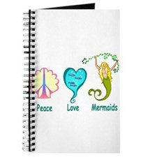Peace,Luv,Mermaids Journal