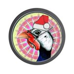 Have a Very Guinea Christmas! Wall Clock