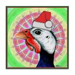 Have a Very Guinea Christmas! Tile Coaster