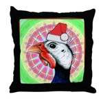 Have a Very Guinea Christmas! Throw Pillow