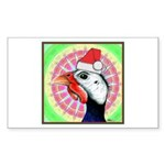Have a Very Guinea Christmas! Sticker (Rectangle)