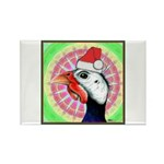 Have a Very Guinea Christmas! Rectangle Magnet (10
