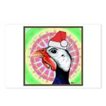 Have a Very Guinea Christmas! Postcards (Package o