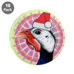 """Have a Very Guinea Christmas! 3.5"""" Button (10"""