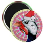"""Have a Very Guinea Christmas! 2.25"""" Magnet (1"""