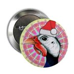 """Have a Very Guinea Christmas! 2.25"""" Button"""