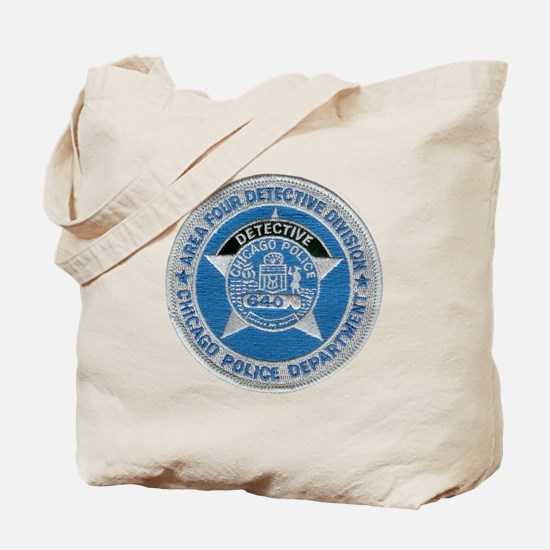 Chicago Police Detective Tote Bag