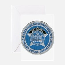 Chicago Police Detective Greeting Card