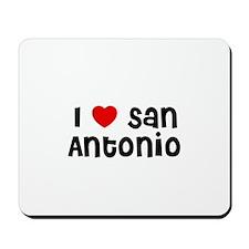 I * San Antonio Mousepad