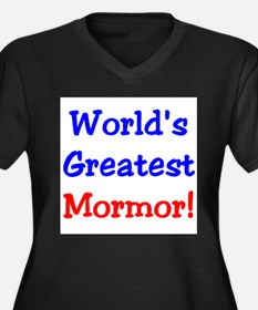 WorldsGreatestMormor Plus Size T-Shirt