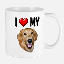 I Love My Golden Retriever 2 Mug