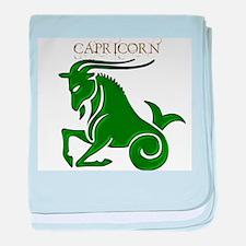 Capricorn II baby blanket