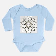 Cute Divination Long Sleeve Infant Bodysuit