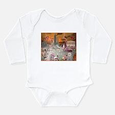 Garden of Alcyone Long Sleeve Infant Bodysuit