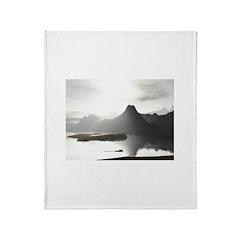 Primal Lake Throw Blanket
