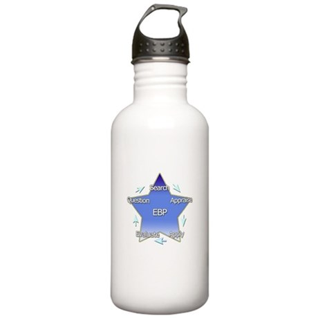 Evidence Based Practice Stainless Water Bottle 1.0