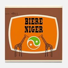 Biere Niger Tile Coaster
