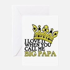 Big Papa Greeting Card