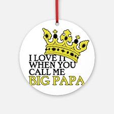 Big Papa Ornament (Round)