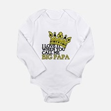 Big Papa Long Sleeve Infant Bodysuit
