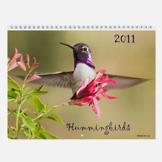 Southwest Hummingbirds Wall Calendar