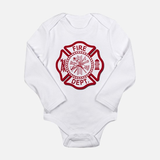 Firefighter Baby Baby Suit