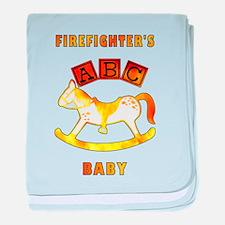 Firefighter's Baby baby blanket