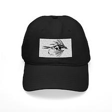 BLACK CAMO FLY Baseball Hat