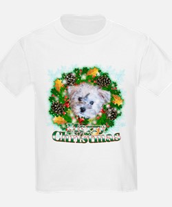 Merry Christmas Schnoodle T-Shirt