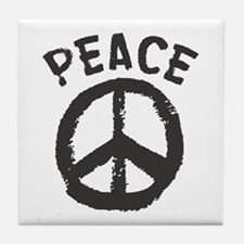 Peace Time Tile Coaster