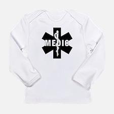 Medic EMS Star Of Life Long Sleeve Infant T-Shirt