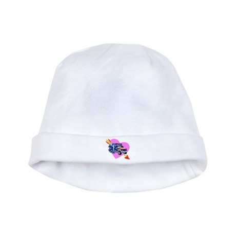 EMS Care Heart baby hat