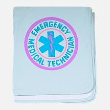 EMT Logo Pastel baby blanket